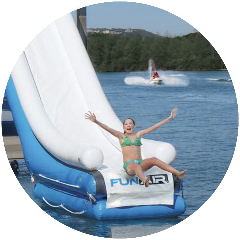 FunAir Inflatable Water Mat BDS hover 2 image