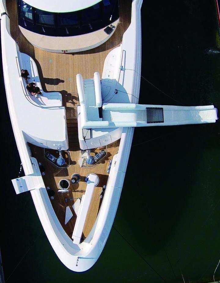 FunAir overhead of yacht slide