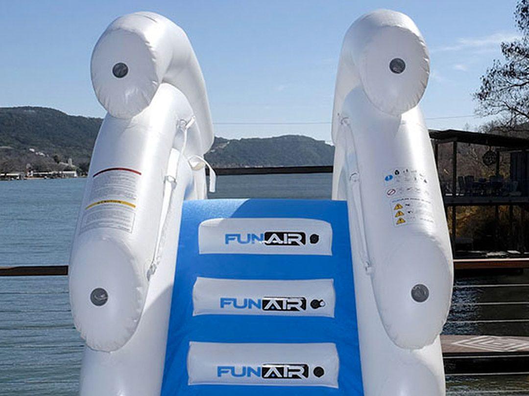FunAir Inflatable Boat Dock Slide