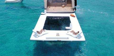 FunAir Beach Club Sea Pool and Loungers