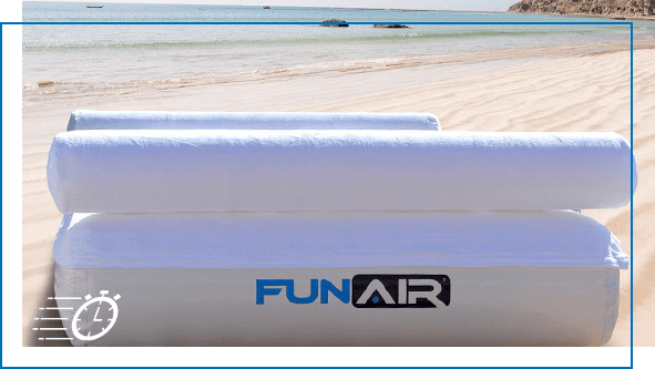 FunAir QuickShip Inflatable Daybed QuickShip