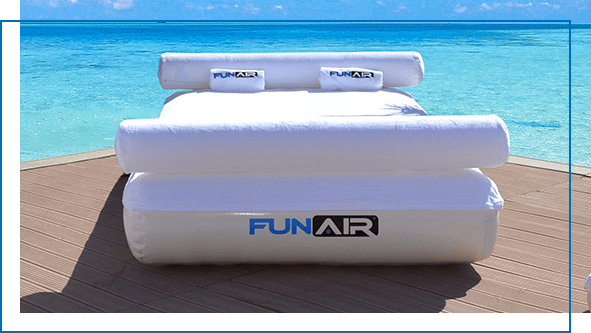FunAir Inflatable Daybed custom