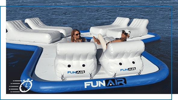 FunAir QuickShip Floating Island