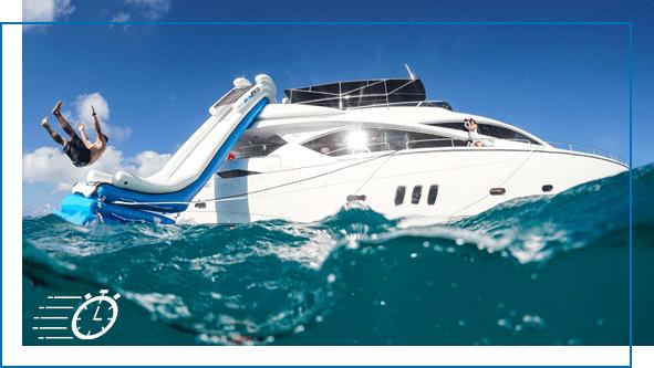 FunAir Yacht Slides Fun Size slides image