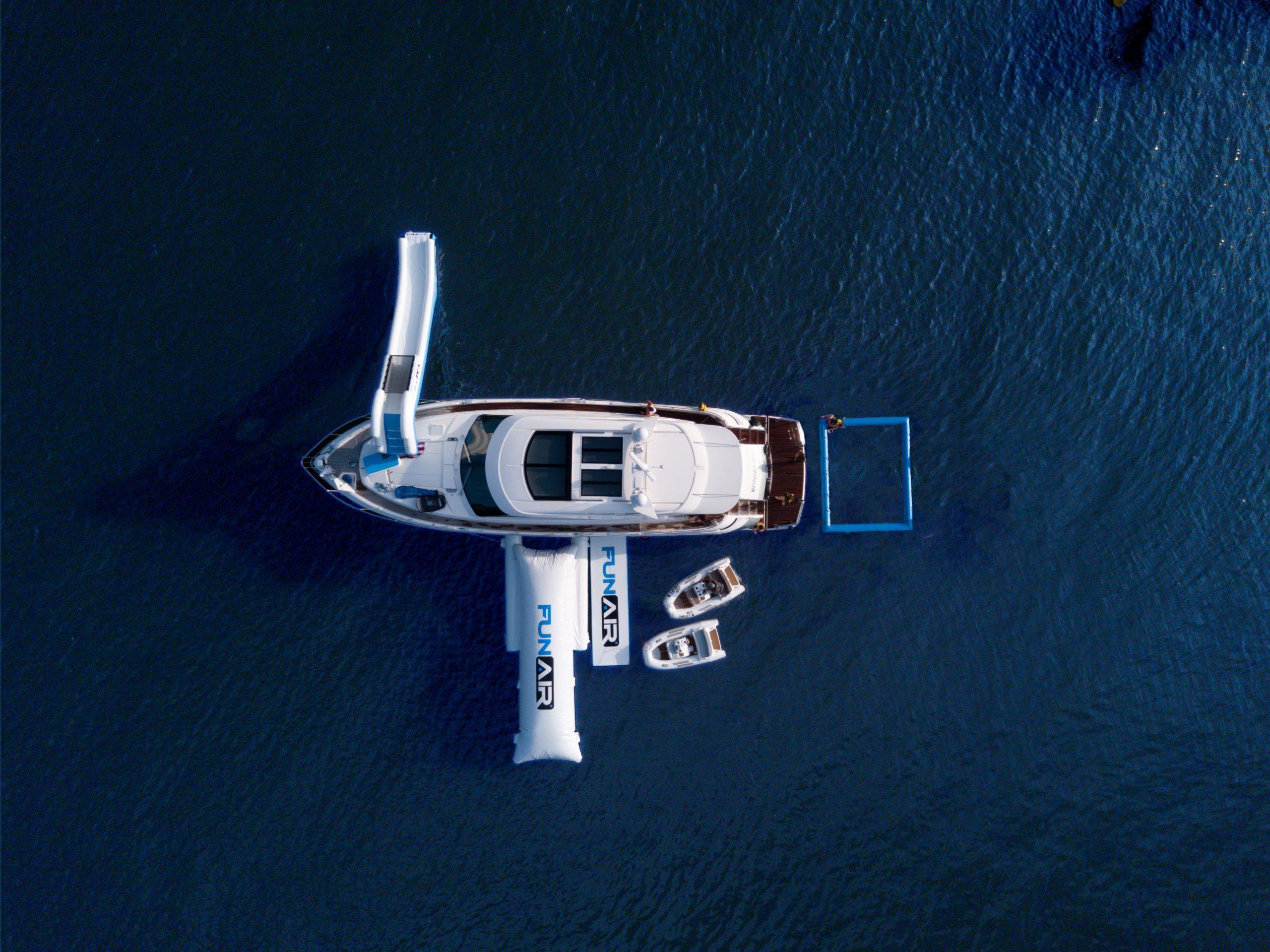 FunAir Marine Riley Aussie Lagoon Pool BigAir Blob and Yacht slide