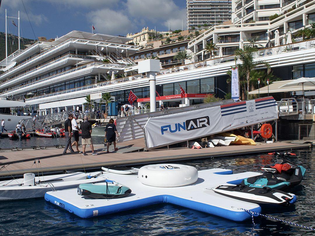 FunAir Toy Island at Monaco Yacht Show