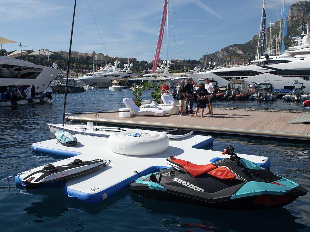 FunAir Toy Island Diving Platform at Monaco Yacht Show