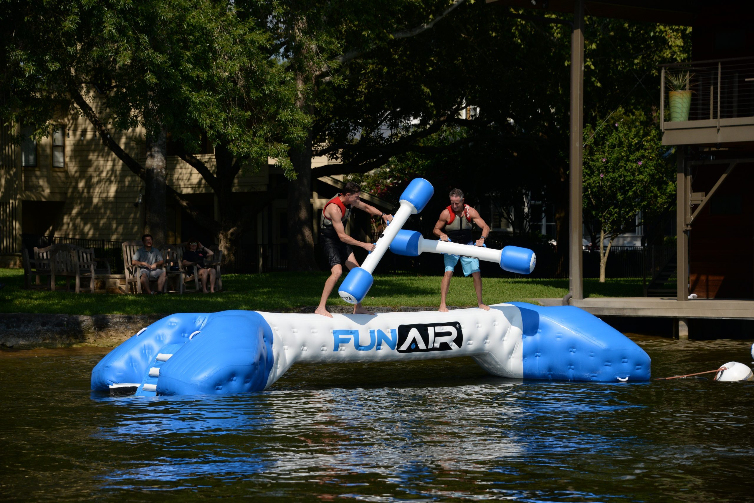 FunAir Yacht Joust challenge