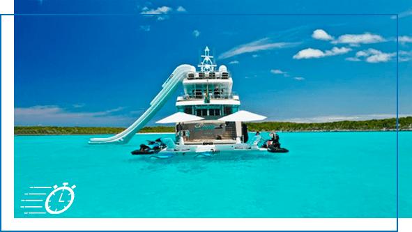 FunAir Yacht Slides Hanger slide image