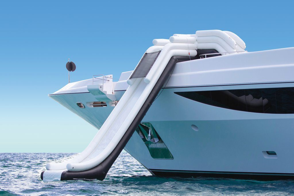 Motor Yacht Illusions FunAir Yacht Slide