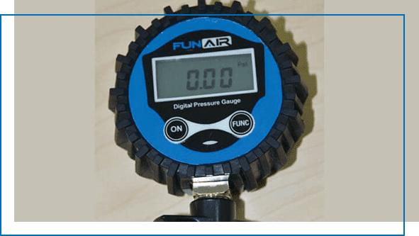 FunAir Digital Air Pressure Gauge