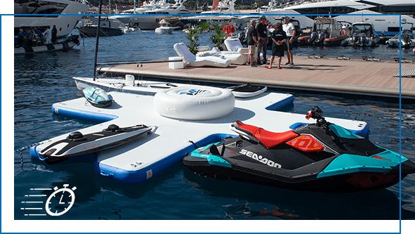 FunAir QuickShip Toy Island Diving Platform