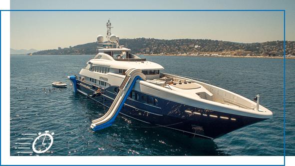 FunAir Yacht Slides QuickShip slides image