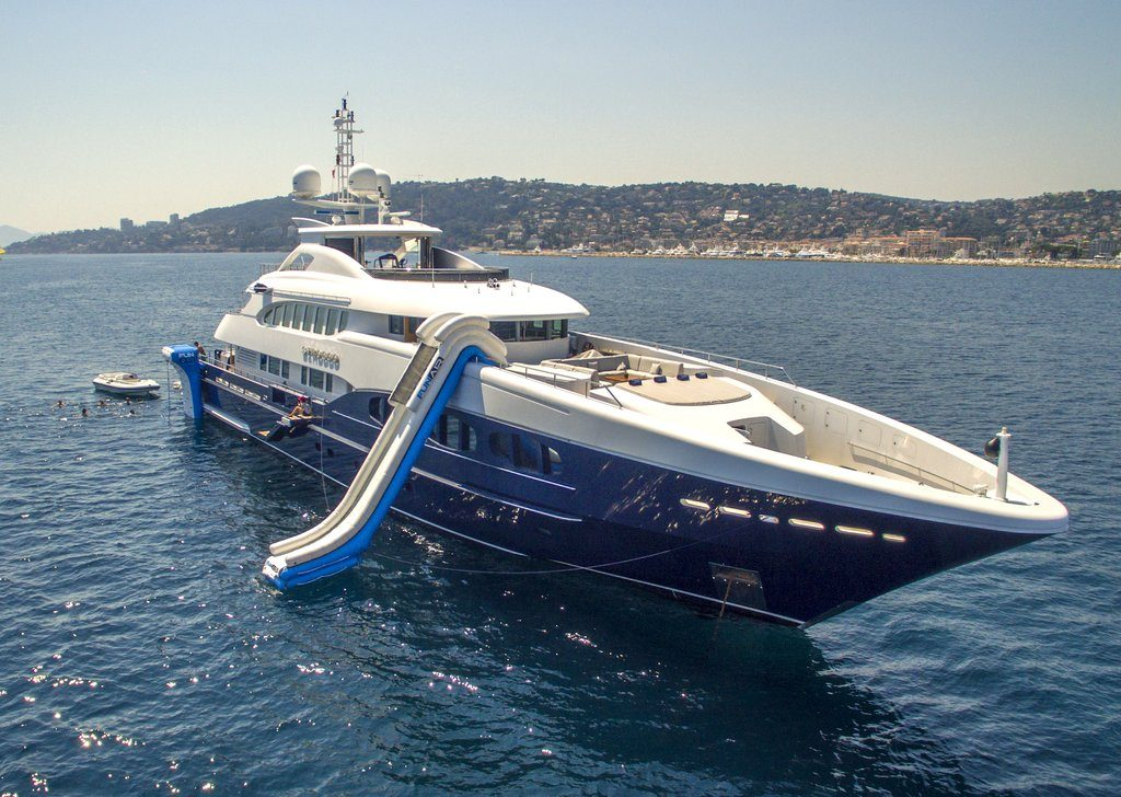 Motor Yacht Scirocco FunAir Slide