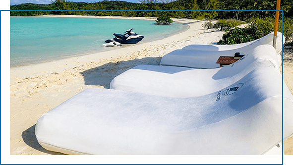 FunAir Custom Superyacht Beach Loungers