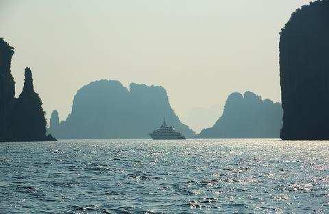 Superyacht in Asia