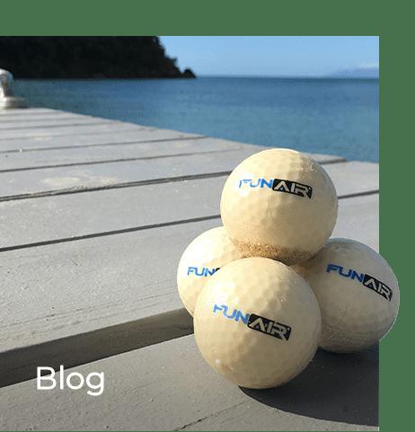 FunAir golf balls blog thumbnail