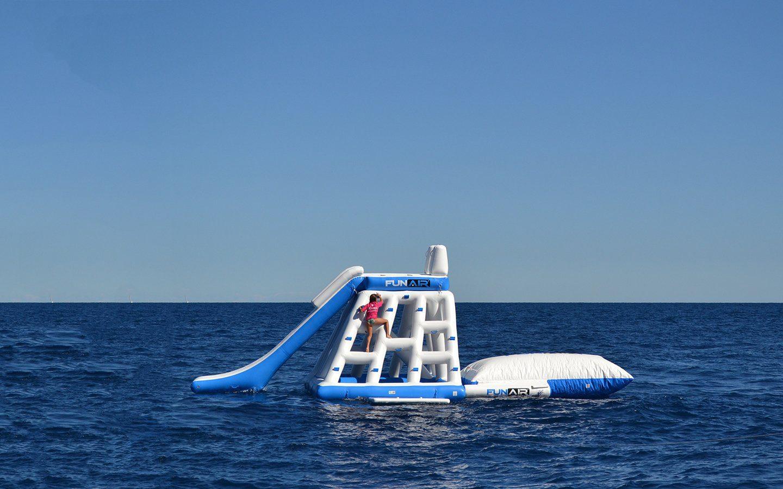 FunAir inflatable playground and Junior Blob