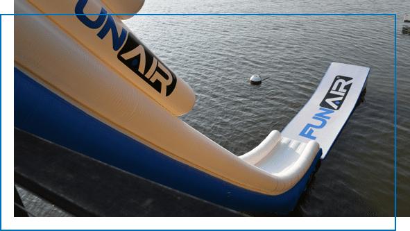 FunAir Boat Dock Slide
