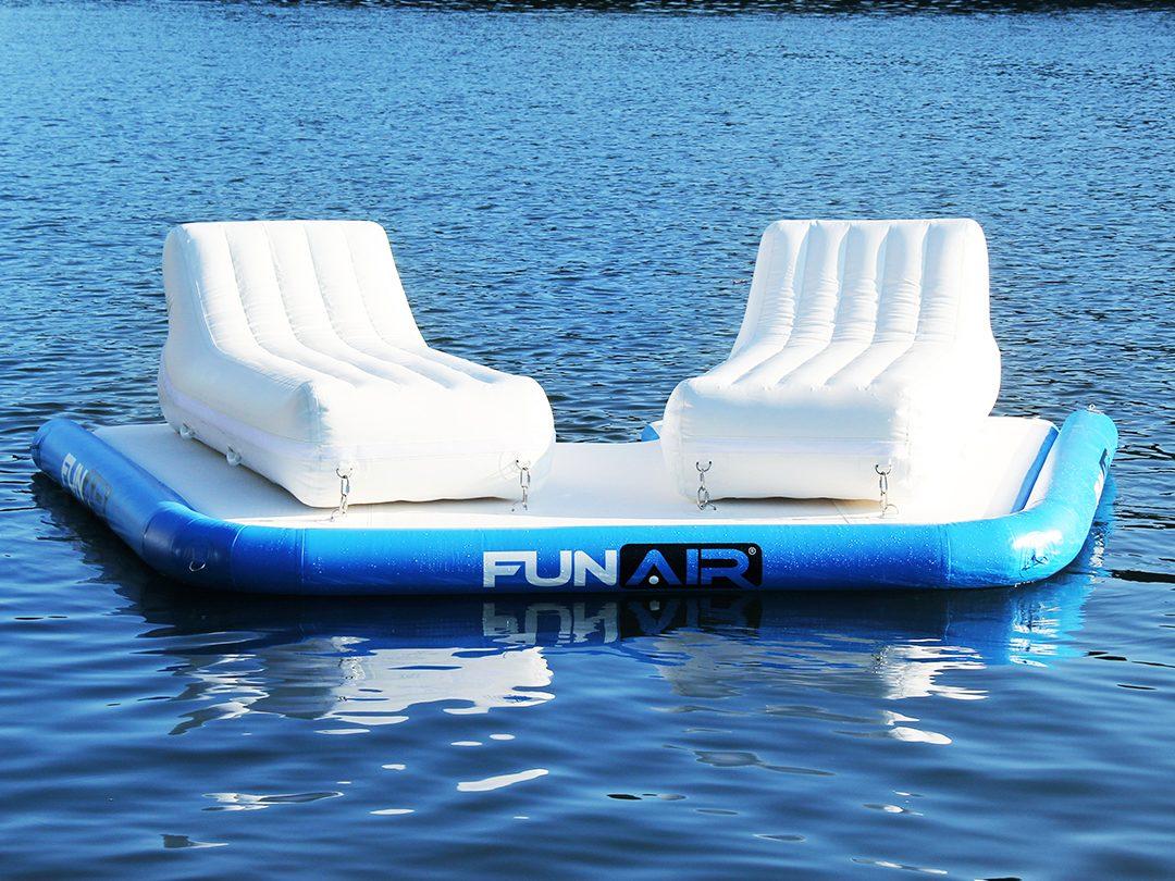 FunAir Twin Escape Floating Island