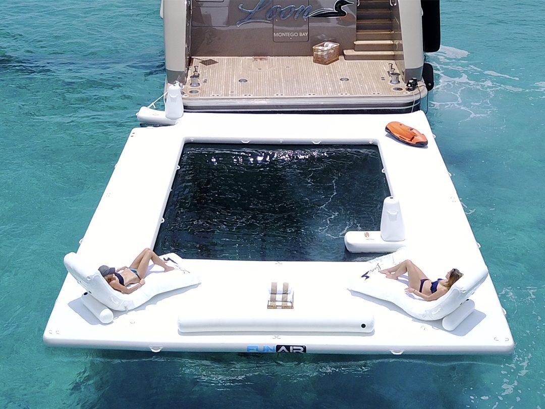 FunAir Superyacht Wave Loungers