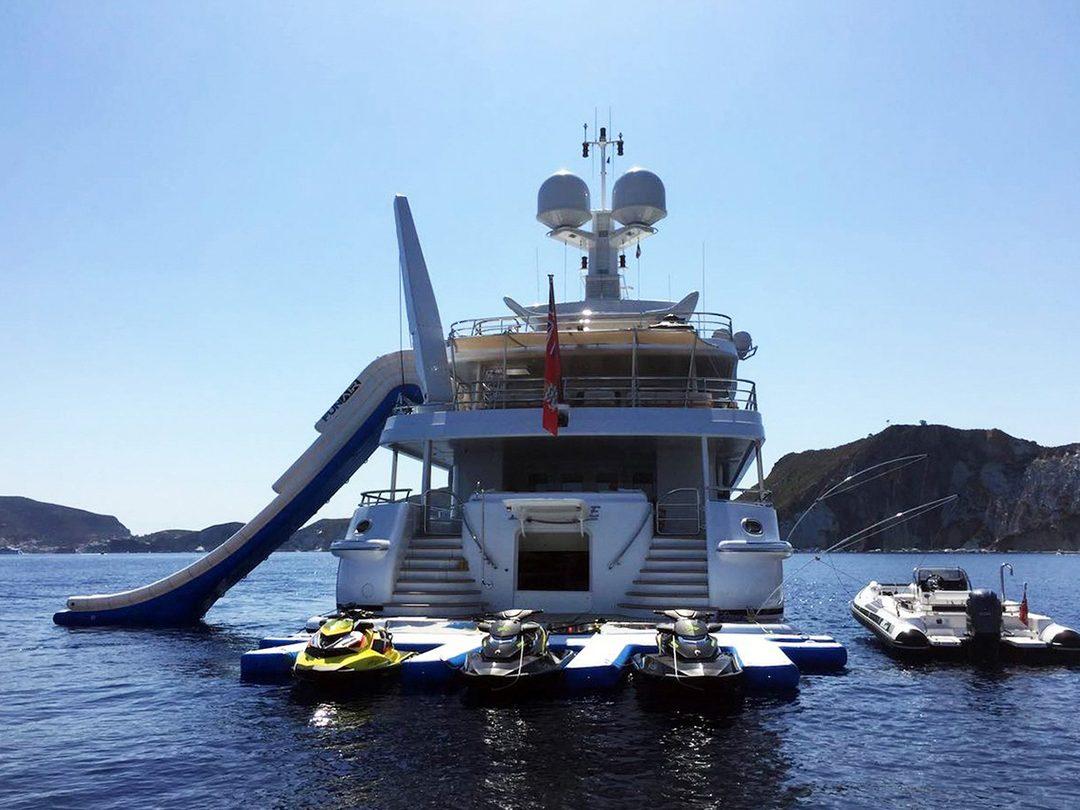 Personal Watercraft Dock by yacht