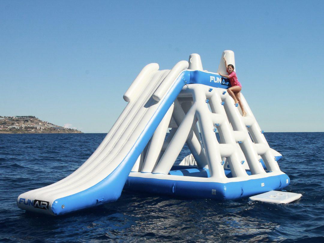 FunAir Floating Playground and Junior BigAir Blob