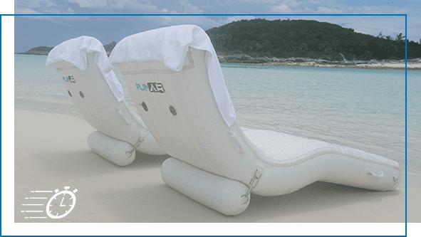 FunAir QuickShip Superyacht Wave Loungers