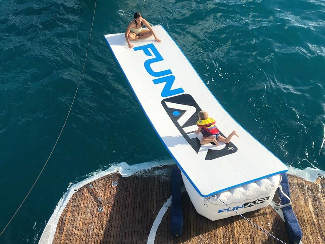 Superyacht Inflatable Water Mat