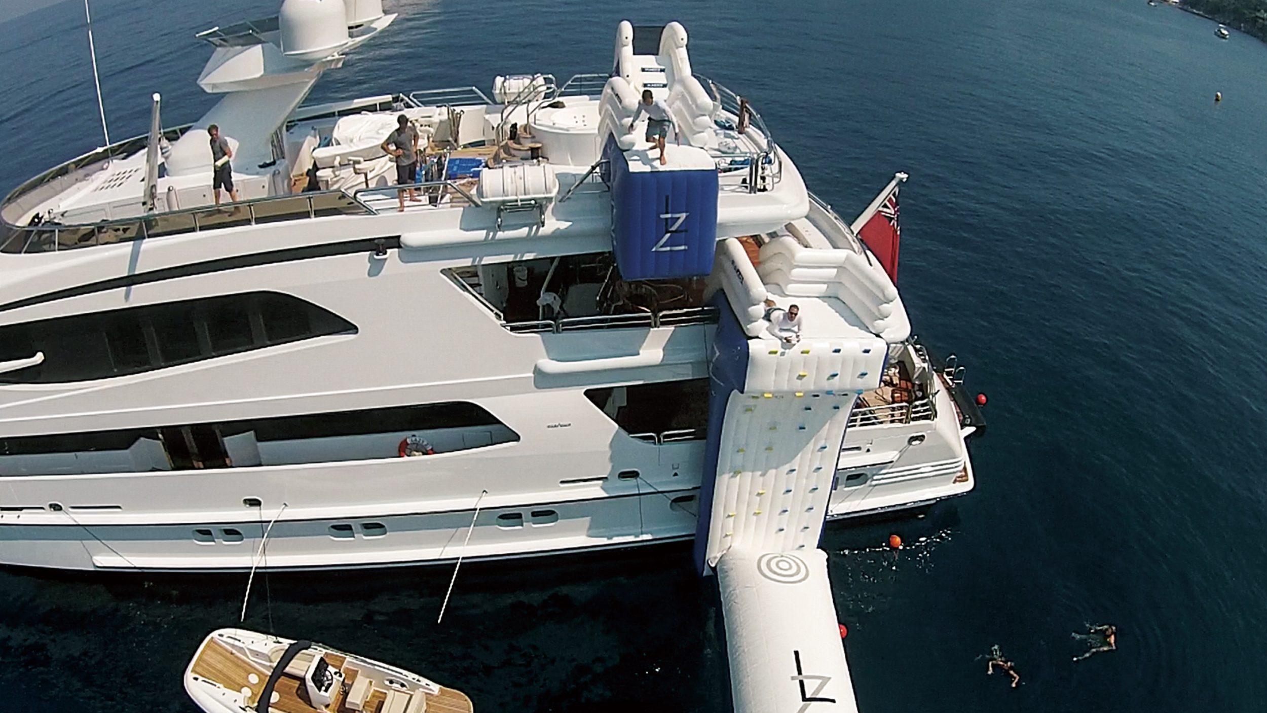Leap of Faith superyacht jump platform
