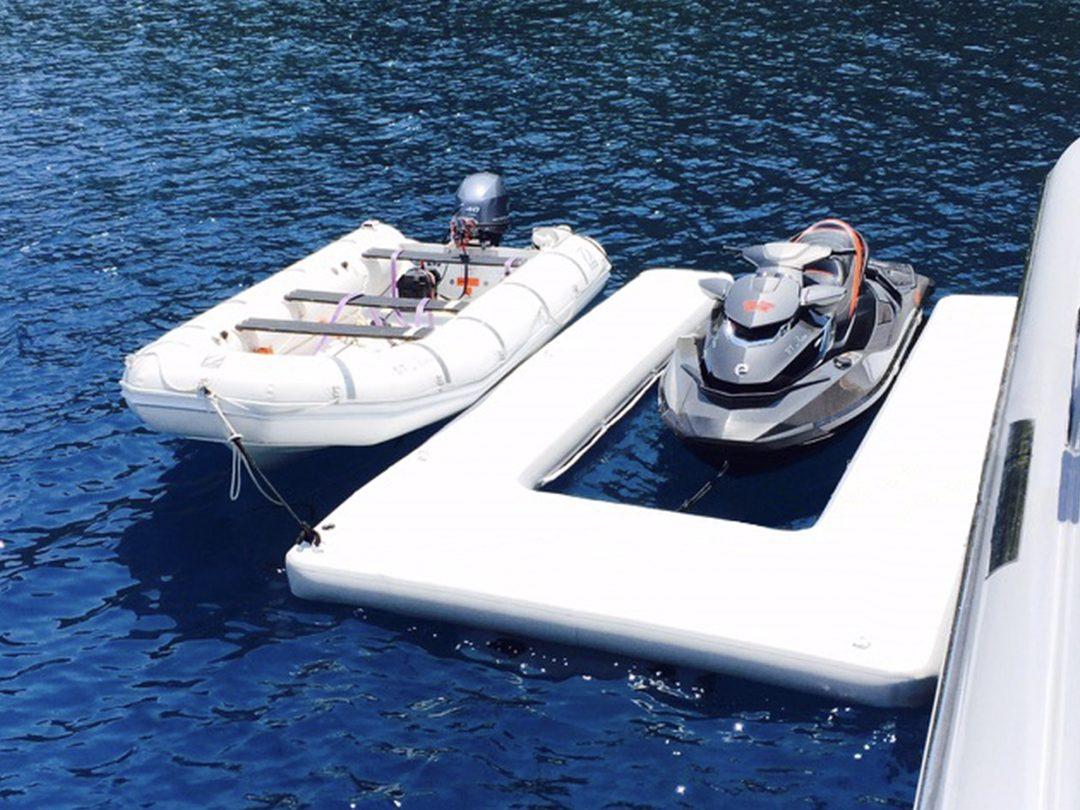 Custom Jet Ski Dock