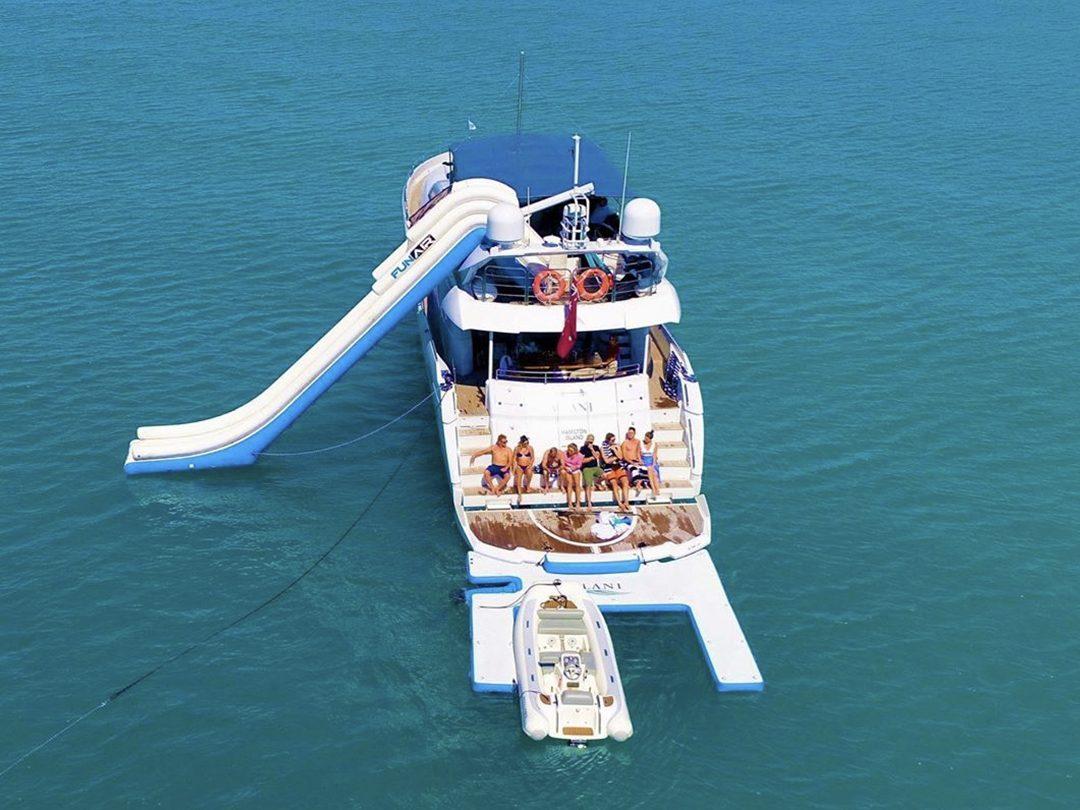 Inflatable Custom Jet Ski Dock