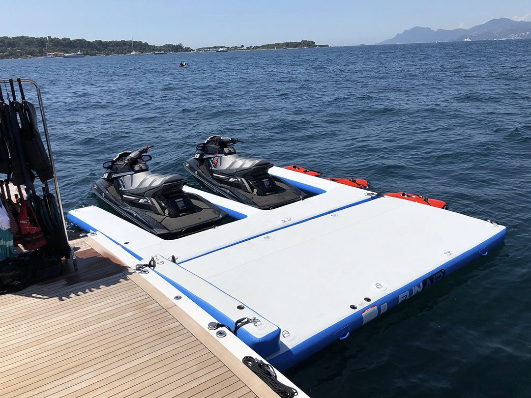 Superyacht Custom Jet Ski Dock