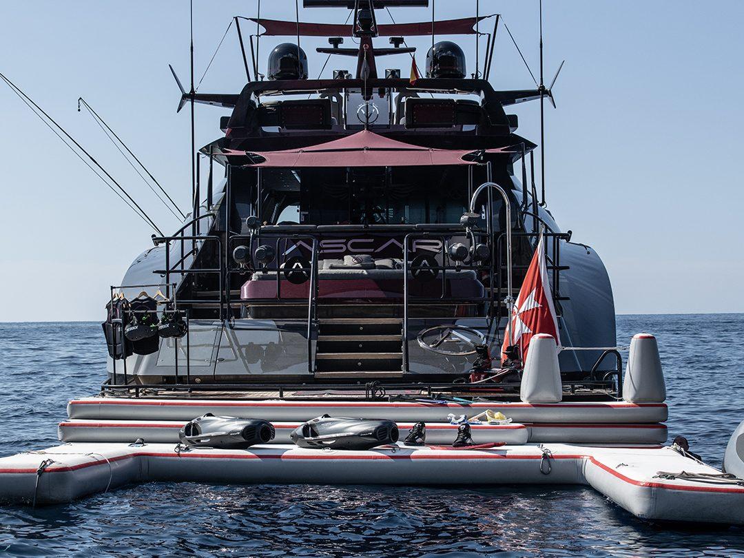 Custom Superyacht Jet Ski Dock