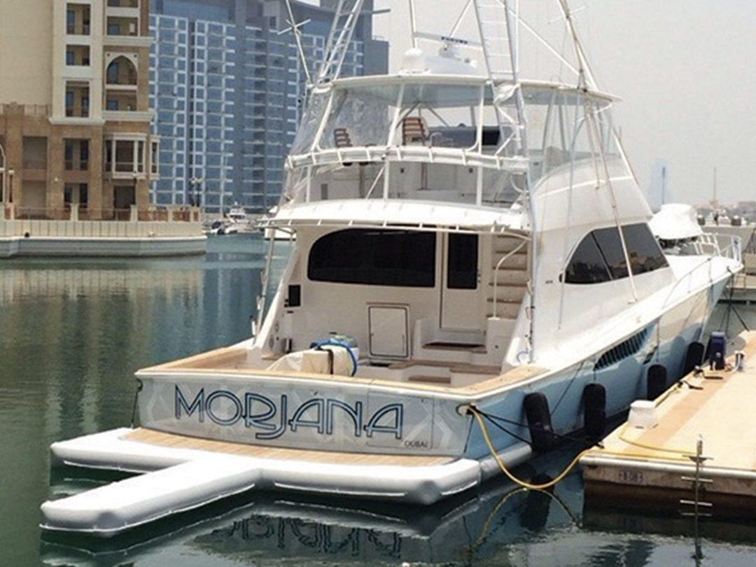 Custom Yacht Jet Ski Dock