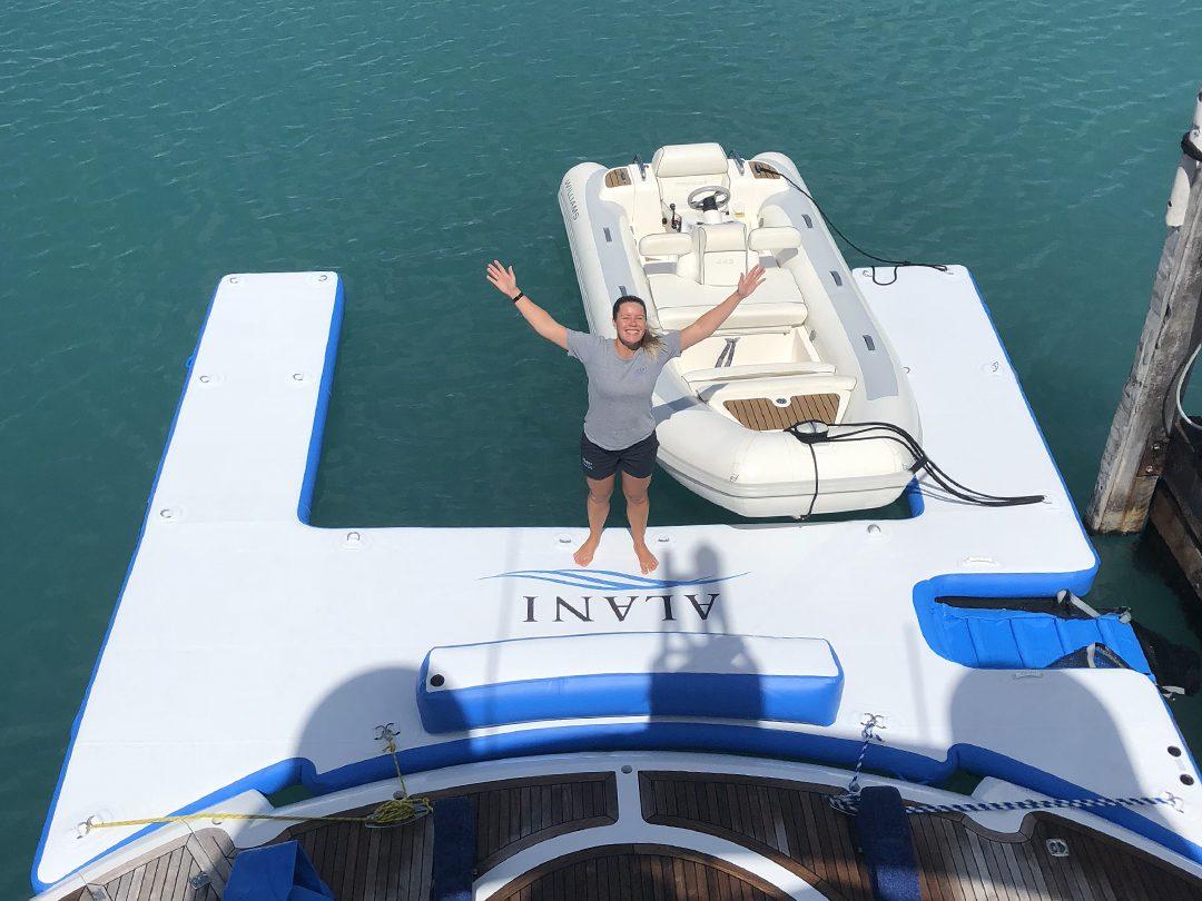 Superyacht Custom Inflatable Jet Ski Dock