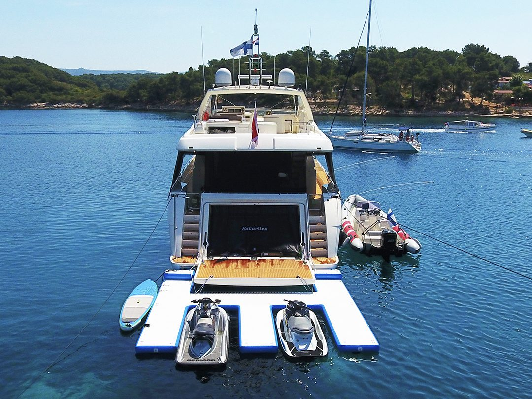 Inflatable Superyacht Jet Ski Dock