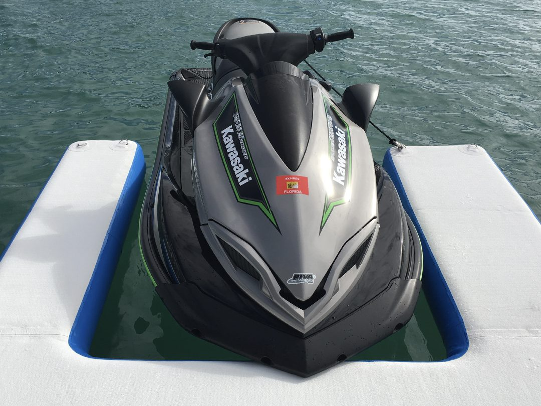 Inflatable QuickShip Jet Ski Dock
