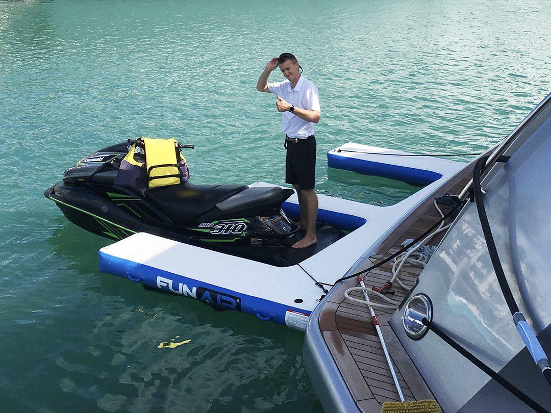 Inflatable Jet Ski Dock