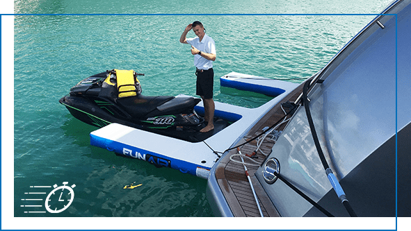 Quick to order Inflatable Jet Ski Dock