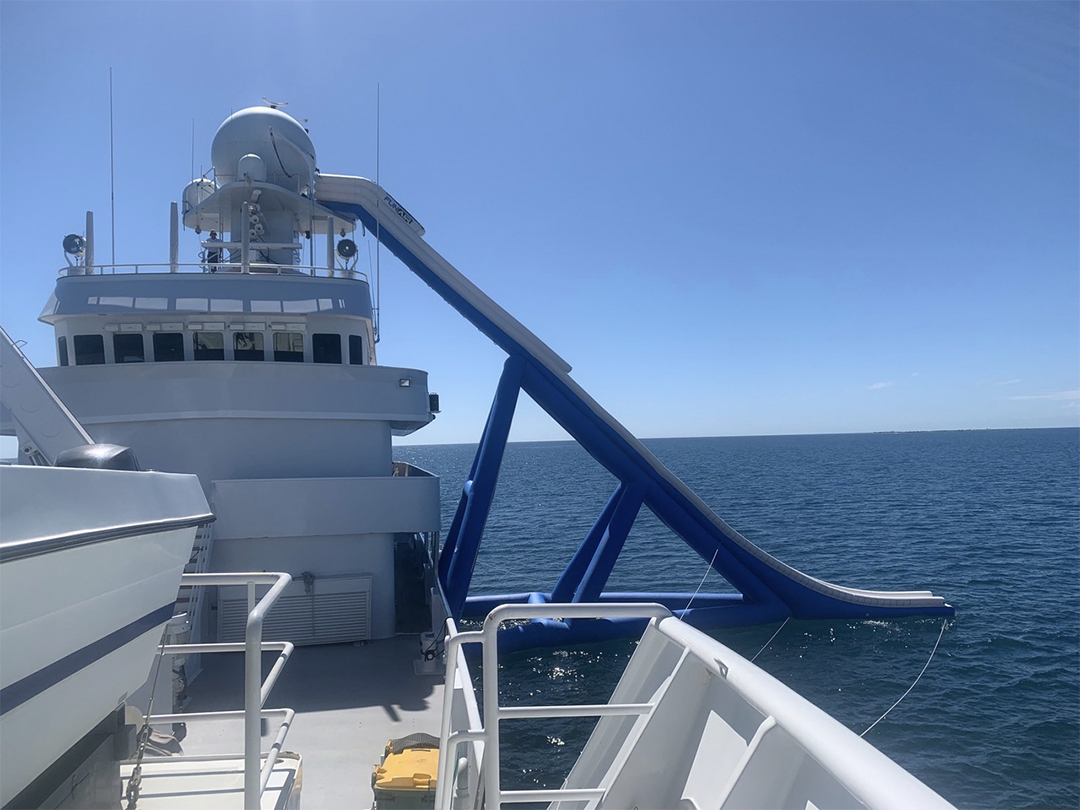 Motor Yacht Pangaea Riser Slide