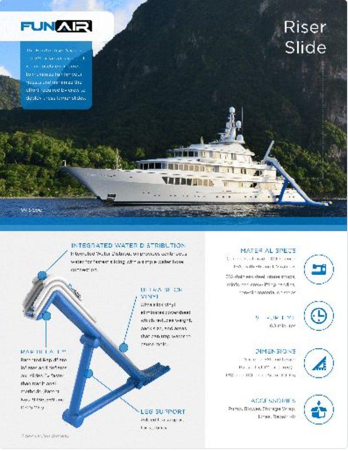 FunAir Riser Slide Spec Sheet
