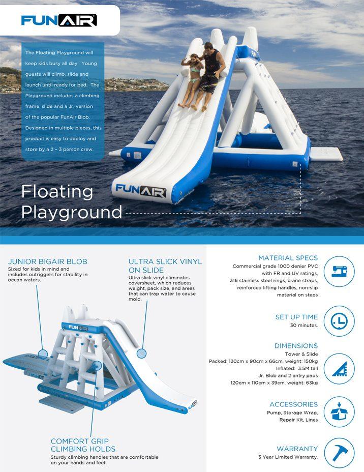 FunAir Floating Playground Spec Sheet