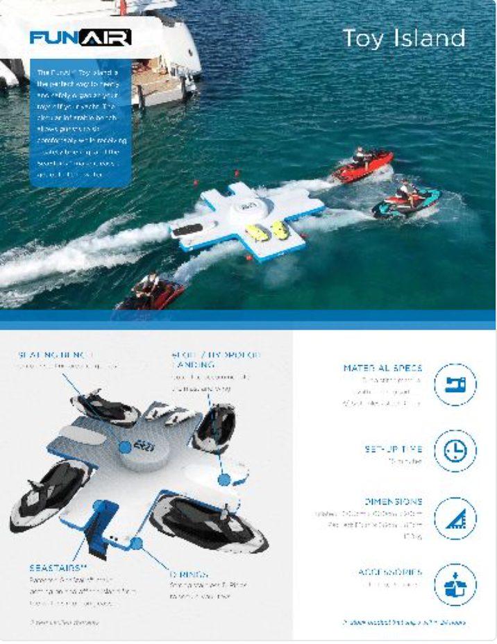 FunAir Toy Island Spec Sheet