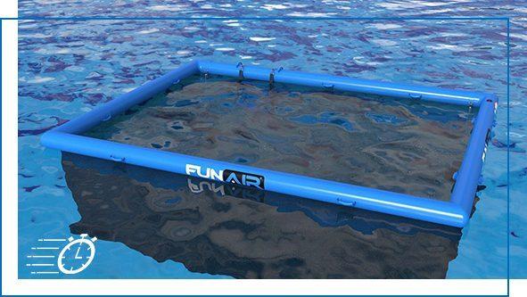 QuickShip Lagoon Pool