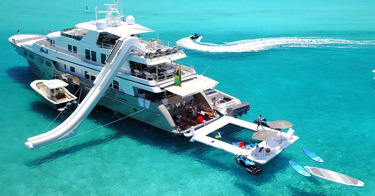 Choose your superyacht sea pool