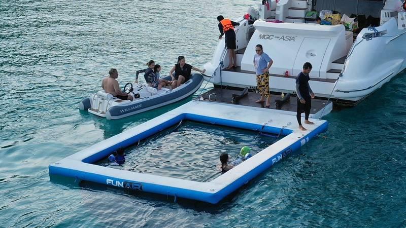 FunAir Netted Sea Pool
