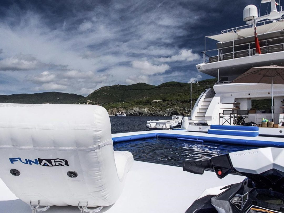 Custom Sea Pool and Superyacht Wave Lounger