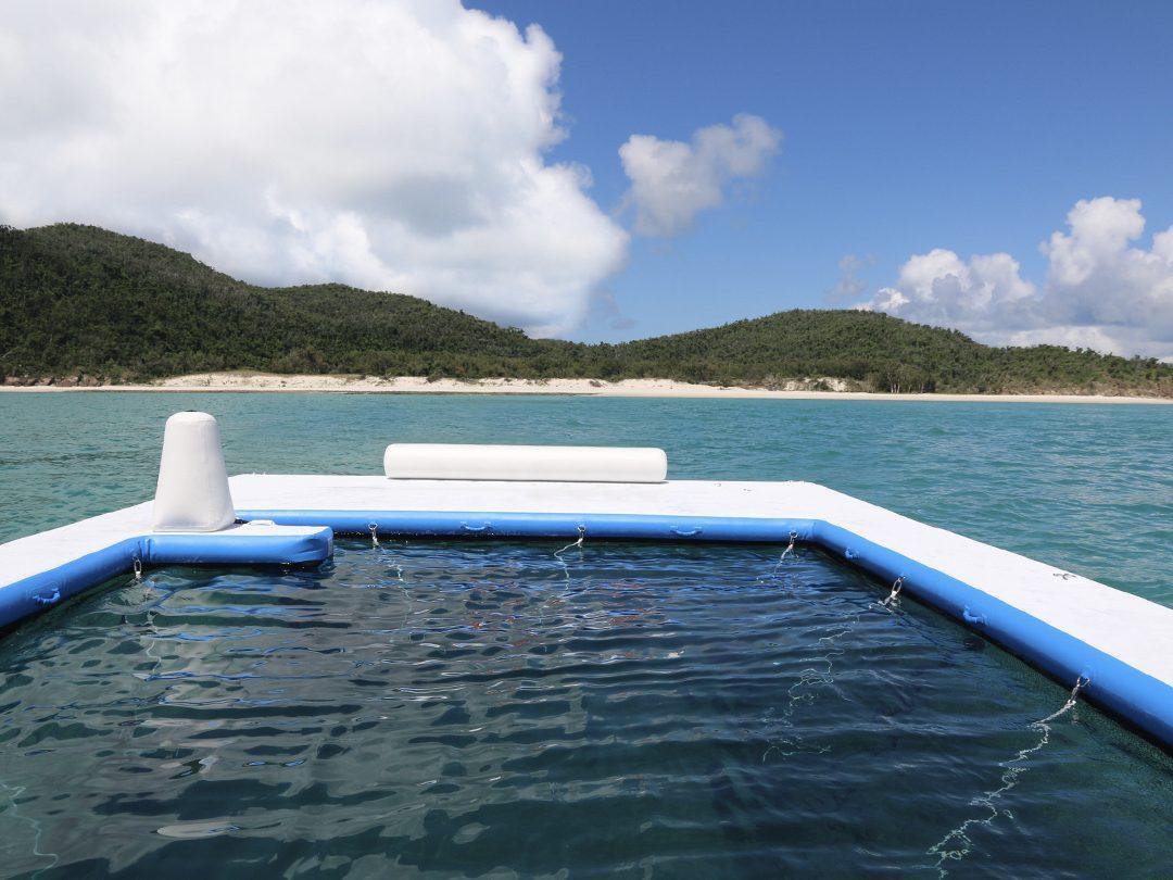 The Sea Pool belonging to Motor Yacht Murcielago