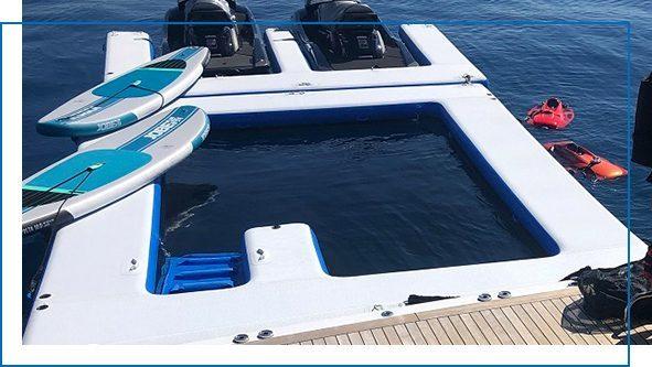 Sea Pool and Jet Ski Dock